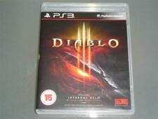 Diablo III PS3 PLAYSTATION 3 (pas de Manuel)