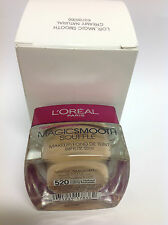 L'Oreal Magic Smooth Souffle Makeup Foundation (#520 CREAMY NATURAL ) NEW IN BOX