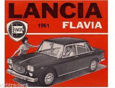 1961 Lancia Flavia  Auto Refrigerator / Tool Box  Magnet