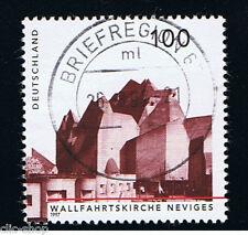 GERMANIA 1 FRANCOBOLLO ARCHITETTURA SANTUARIO NEVIGES 1997 usato