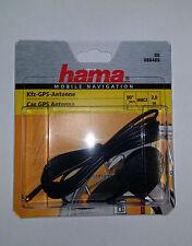 Hama MMCX GPS Antenne 2m 90° Anschluss Navigon Becker Navman Acer Asus Medion