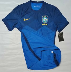 Brazil Away Jersey Nike 2020/ 2021 Blue Player Issue rare item