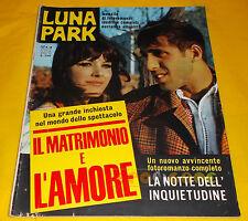 LUNA PARK 1967 n. 19 - Adriano Celentano, Claudia Mori - Fotoromanzo Completo