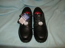 New Men Black Sketchers work shoes slip resistant & EH size 11.5