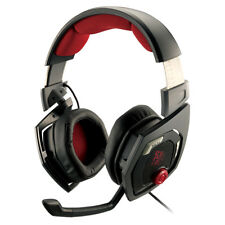 ThermalTake E-Sports Shock 40 mm Drivers 7.1 Sound 3D Black Gaming Headset