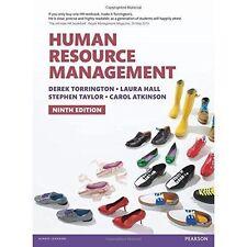 Human Resource Management 9th edn by Laura Hall, Carol Atkinson, Derek Torringto