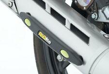 Yamaha YBR125 Exhaust Sliders by R&G Racing | ES0006BK