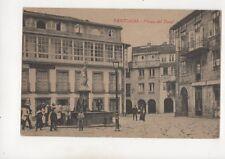 Santiago de Compostela Plaza del Toral Spain Vintage Postcard 361b