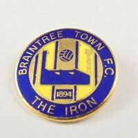 Vintage Braintree Town F.C Football Club Pin Badge - Non League Football clubs