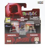 Marvel Minimates SDCC Exclusive Netflix Daredevil & Punisher