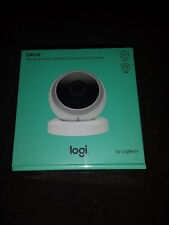 Logitech Circle Wireless 1080p Video Battery Security Home Camera white New