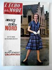 L'echo de la mode n°13 du 1/04/1962  Images et Gens du Nord