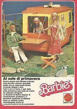 X0670 La Roulotte di Barbie - Al sole di primavera - Pubblicità del 1980 - Adv