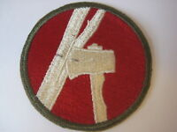 US Army military vtg 84th Infantry Division PATCH railsplitters badge WWII era ?