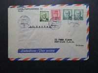 Czechoslovakia 1947 Censor Cover to USA / Bratislava Censor - Z10813