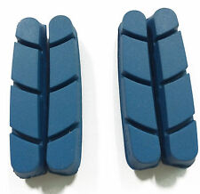 Campagnolo Bicycle Brake Pads Carbon Wheel Rim shoes BLUE Right Left Road Race