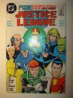 Justice League, Europe, International, lot of 16 DC comics, 1987