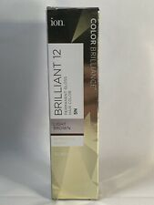 ION Brilliance Permanent Gloss Hair Color Brilliant 12 Light Brown 5N