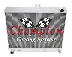 2 Row Best Cooling Champion Radiator for 1963 1964 1965 Buick Riviera V8 Engine