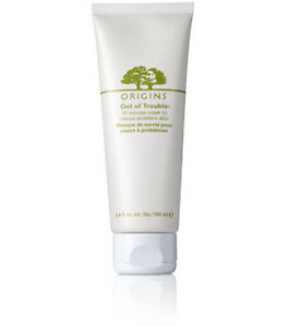 New Origins Out of Trouble Mask Full Size 3.4oz/100ml Best Seller!!