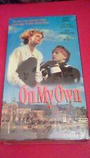 On My Own RARE Alliance release (1993) VHS Judy Davis nude Matthew Ferguson NEW