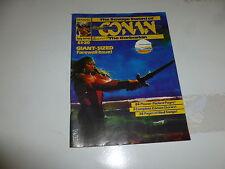The SAVAGE SWORD of CONAN the BARBARIAN Comic - No 93 - Date 07/1985 - UK Comic
