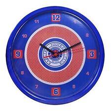 Rangers FC Bulseye Wall Clock Official Licensed Merchandise Football Fan Gift
