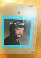 Eddie Rabbitt Country 8-tracks 8-track tapes Tested working 8 track The Best of