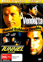 Vendetta/Tunnel - Rare DVD Aus Stock New Region 4