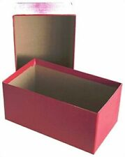5 GUARDHOUSE Small Regular US / Dollar Bill Red Cardboard Storage Boxes