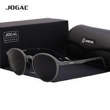 Jogal Authentic Sunglasses Polarized Aluminium Retro Vintage Round Frame Eyewear