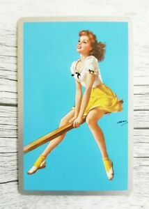 Swap Card, American Playing Card, Risque, Glamour, Pin Up Girl