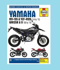 MAN6009 Haynes Workshop Manual Yamaha WR WR125 WR125R & WR125X 2009 to 2015