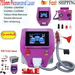 Picosecond Laser Nd Yag Q-Swit Laser Tattoo Removal Maine Pigment Removal