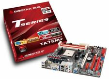 Biostar Mother board TA75M+ Support AMD FM1 CPU DDR3 Micro ATX