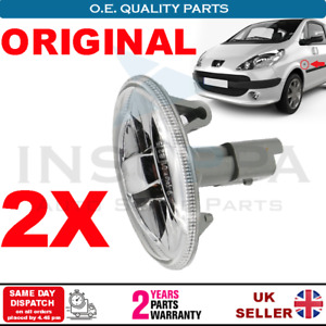 2X SIDE INDICATOR REPEATER LAMPS FOR TOYOTA AYGO 05 ON PROACE 13-16 FIAT SCUDO