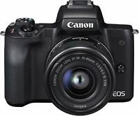 Mirrorless interchangeable-lens camera EOS Kiss M lens kit Canon From Japan