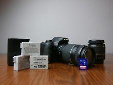 Canon EOS Rebel T3i Kit / EOS 600D 18.0MP Digital SLR Camera [Extras] - Black