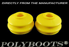 2x Tuning Polyurethane Ball Joint Boots Toyota Hiace Hilux 19x52x36 mm Yellow