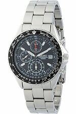 Seiko SND253P1 Men's Flightmaster Pilot Slide Rule Chronograph