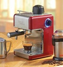 Cooks Professional D7500 Italian Espresso Coffee Machine - Red