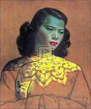 VLADIMIR TRETCHIKOFF CHINESE GIRL Open Edition