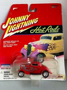 Johnny Lightning Hot Rods '34 Ford Coupe