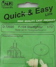 CMK 1/72 F-104 Starfighter radôme # Q72020