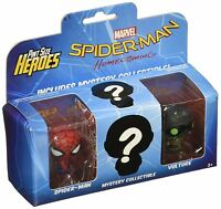 Funko Pint Size Heroes Spider-Man Homecoming Spiderman, Vulture & Mystery Figure