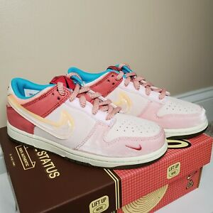 Social Status Nike Dunk Low Strawberry Milk (PS) Size 2.5 Y ✈️ FREE SHIPPING ✈️