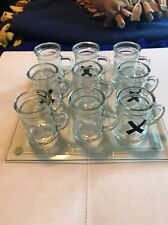 Glass Shots Tic-Tac-Toe Game