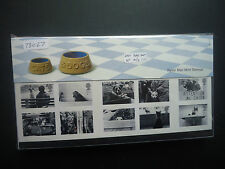 Great Britain Presentation Packs 2001 Year Set (11 Packs) MNH