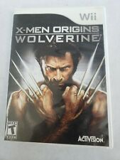 X-Men Origins - Wolverine (2009) Wii Tested *Free Fast Shipping*