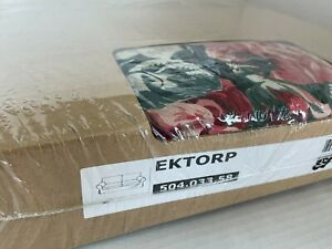 Ikea EKTORP Loveseat 2 seat sofa COVER ONLY, lingbo multicolor floral - NEW